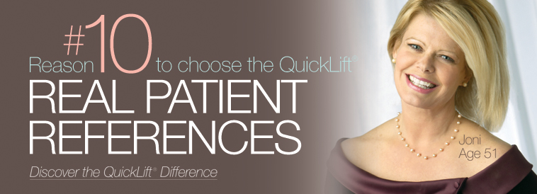 QuickLift Face Lift Difference: Reason 10