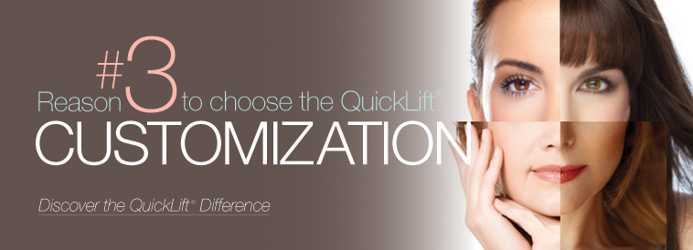 QuickLift Face Lift Difference: Reason 3